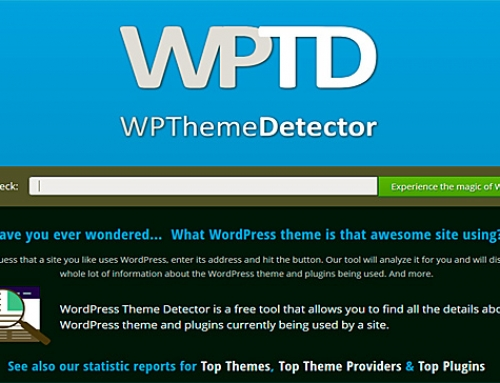 Cómo saber que theme usa una Web