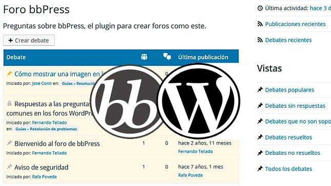 foro bbPress