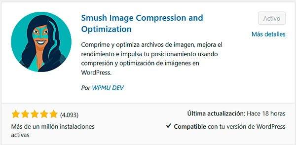 Smush plugin