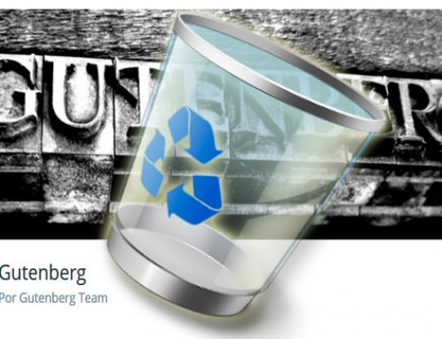 ¿Cómo eliminar Gutenberg en WordPress?