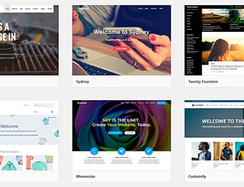 Cómo cambiar de tema en WordPress